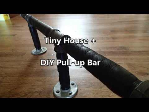 Tiny House Diy Pull Up Bar Youtube