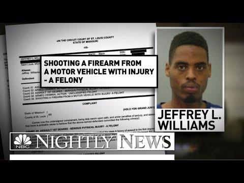 Ferguson Police Arrest Suspect in Cop Shootings | NBC Nightly News