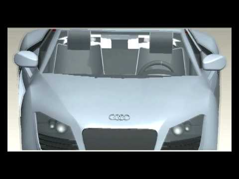 Finished Advanced CAD 2min Animation; Audi R8