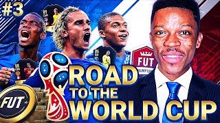 SQUAD BATTLE REWARDS!! FRANCE ROAD TO THE WORLD CUP #3 - FIFA 18