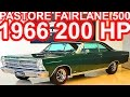 PASTORE Ford Fairlane 500 1966 AT3 RWD 4.7 289 V8 200 hp 39 mkgf 175 kmh 0-100 kmh 10,6 s #Ford