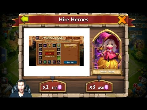 Awesome Rolling Session 55000 Gems POINT ARCADE 36 Lucky Flips Castle Clash