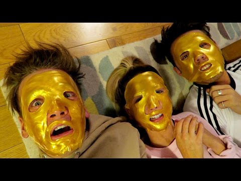 Thumbnail: FUNNY FACE MASKS WITH ZOE & ALFIE