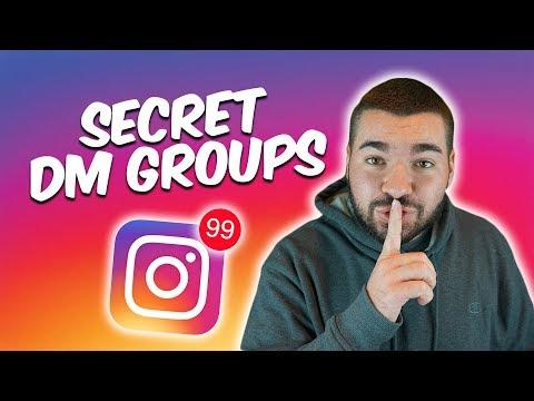 2018 INSTAGRAM DM GROUP BLUEPRINT. Join 100 DM Groups in 1 DAY