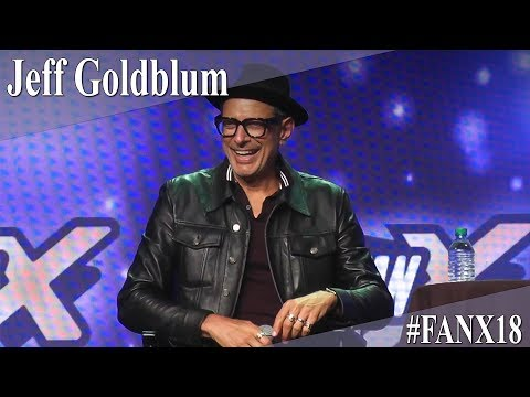 Jeff Goldblum  Full PanelQ&A  X 2018