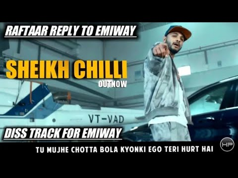 Raftaar Angry reply to Emiway Bantay Sheikh Chilli No 1 Prank TV 2018