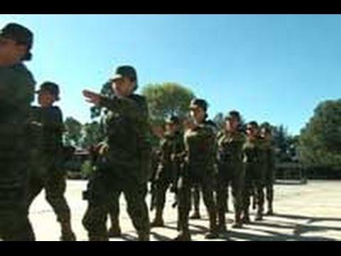 Militar de entrenamiento ejercicios fisicos