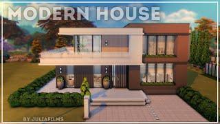 Современный дом I Строительство I Modern house I SpeedBuild + CC Links [The Sims 4]