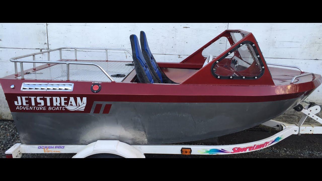 jetstream mini jet boat dinghy test run