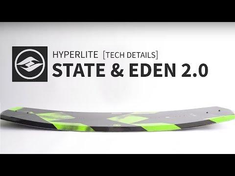 2018 Hyperlite State & Eden 2.0 Wakeboards