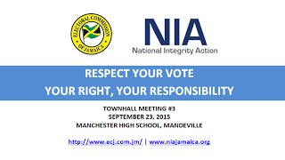 NIA-ECJ 'Respect Your Vote' Town Hall Meeting in Manchester (Pt. 1)