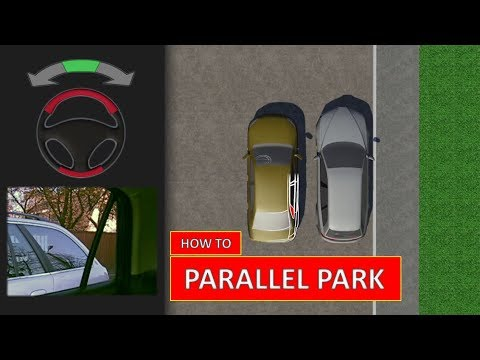 Learn how to PARALLEL PARK. The easiest driving lesson (by P