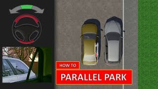 Learn how to PARALLEL PARK. The easiest driving lesson (by Parking Tutorial)