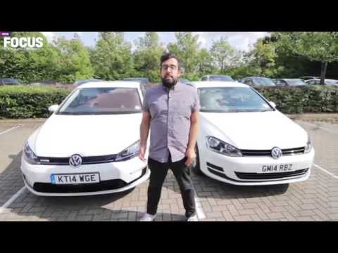 Volkswagen e-Golf electric car first drive