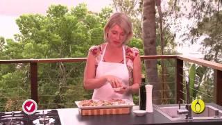 Grilled Asparagus & Leek Salad With Tuna