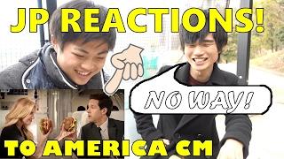 JAPANESE REACT TO AMERICAN CM! 関西人がアメリカCMを見てみた結果!