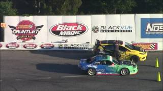 2017 Formula Drift: Round 4: The Gauntlet: TOP 16 TO FINALS!