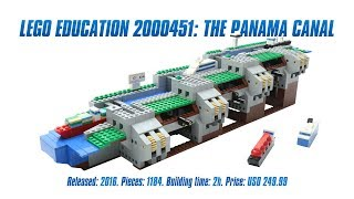 LEGO Education 2000451: The Panama Canal In-depth Review & Speed Build