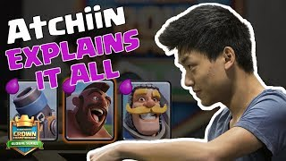 Clash Royale: Atchiin on Counter Decks, Elixir Counting, and Patience  - [CCGS LATAM Fall Season W7]