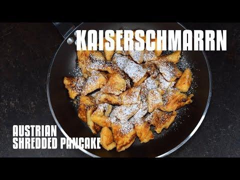 Kaiserschmarrn, the Austrian shredded pancake