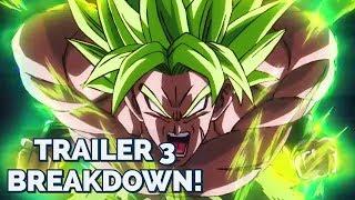Dragon Ball Super: Broly Trailer 3 FULL TRAILER BREAKDOWN!