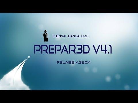 [P3D V4.1] Chennai (VOMM) ✈ Bangalore (VOBL)   FSLabs A320X   FUll Flight   IGO271