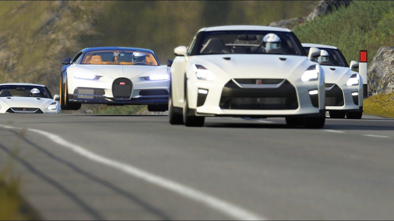 Aston Martin DBS Superleggera vs Lamborghini Huracan STO vs Nissan GT R at Old Spa