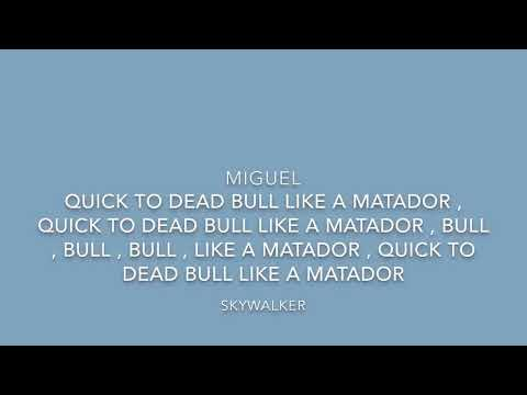 Miguel - Skywalker Lyrics