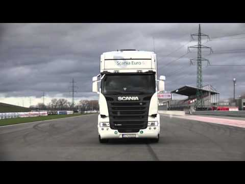 Test 2015: SCANIA R450 - YouTube