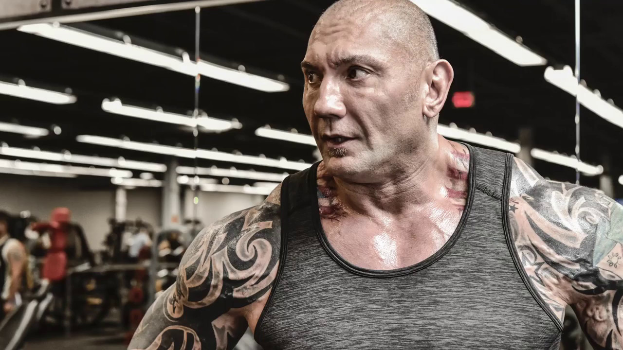 bf49935eb14 Dave Bautista on the Cover of May s Muscle   Fitness Magazine! - YouTube