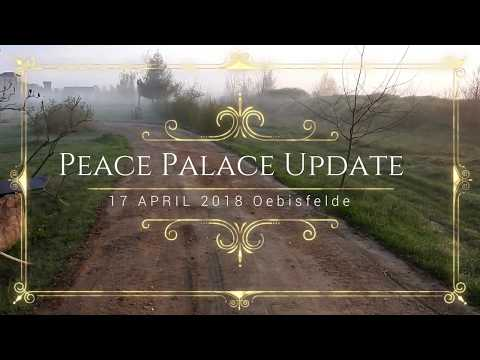 Peace Palace Update 17 04 2018 Road flattening , tree pull out