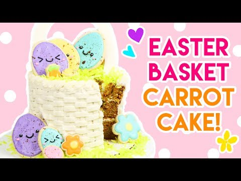 How to Make an Easter Basket Carrot Cake!