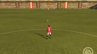 how to shoot from halfway on fifa 10 for the ps3