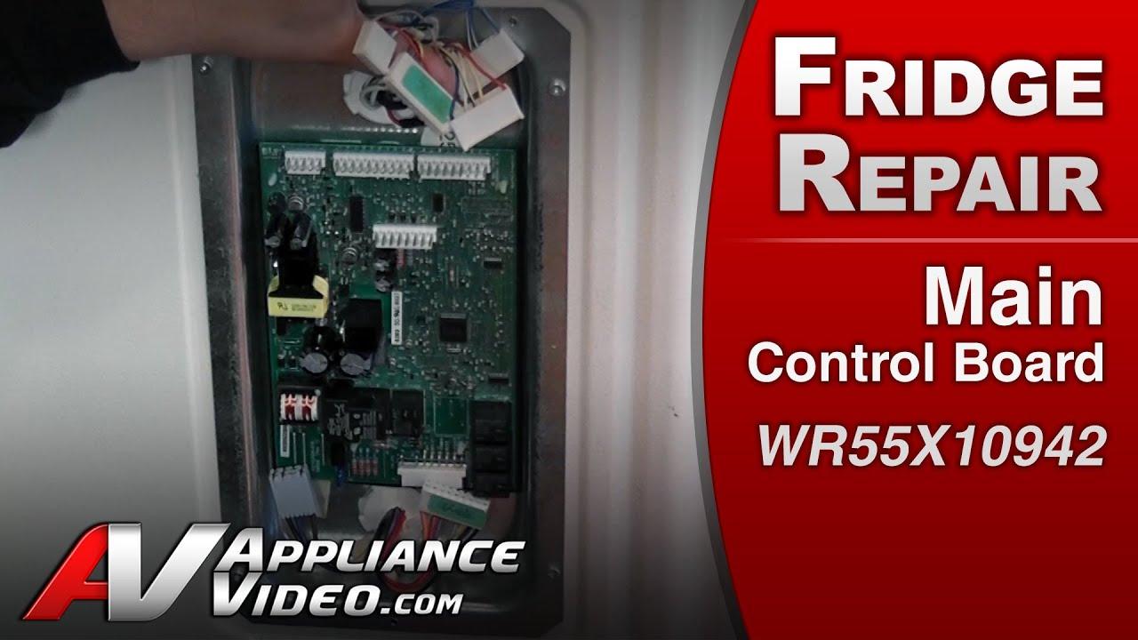 Refrigerator Repair & Diagnostic Main Control Board  GE