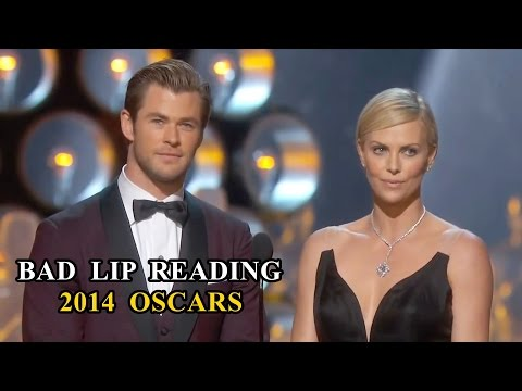 Oscars Bad Lip Reading Compilation