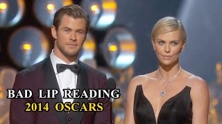 Repeat youtube video Oscars Bad Lip Reading Compilation