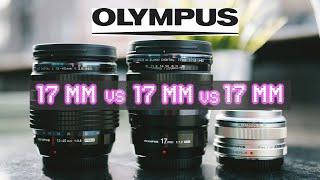 17mm VS 17mm VS 17mm - RED35 Comparison