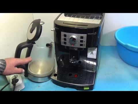Как сделать декальцинацию кофемашины delonghi
