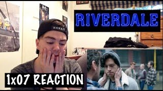 riverdale 1x07 chapter seven in a lonely place reaction