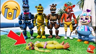 GUESS WHO HIT TOY CHICA! (GTA 5 Mod For Kids FNAF RedHatter)