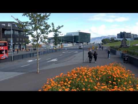 Reykjavik Iceland City Centre 28 August 2016