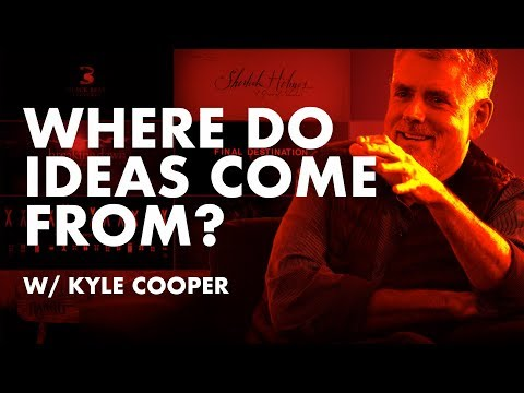 Inspiration Is For Amateurs—Where Do Ideas Come From? w/ Kyle Cooper edit