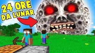 24 ORE TRASFORMATO IN LUNAR! - SCHERZI su Minecraft ITA