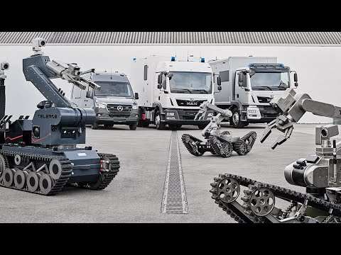 Telerob Unmanned Ground Vehicles - Virtual Press Briefing w/ Q&A Session