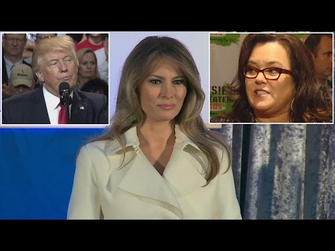 Rosie O'Donnell Tells Melania To Divorce President Trump