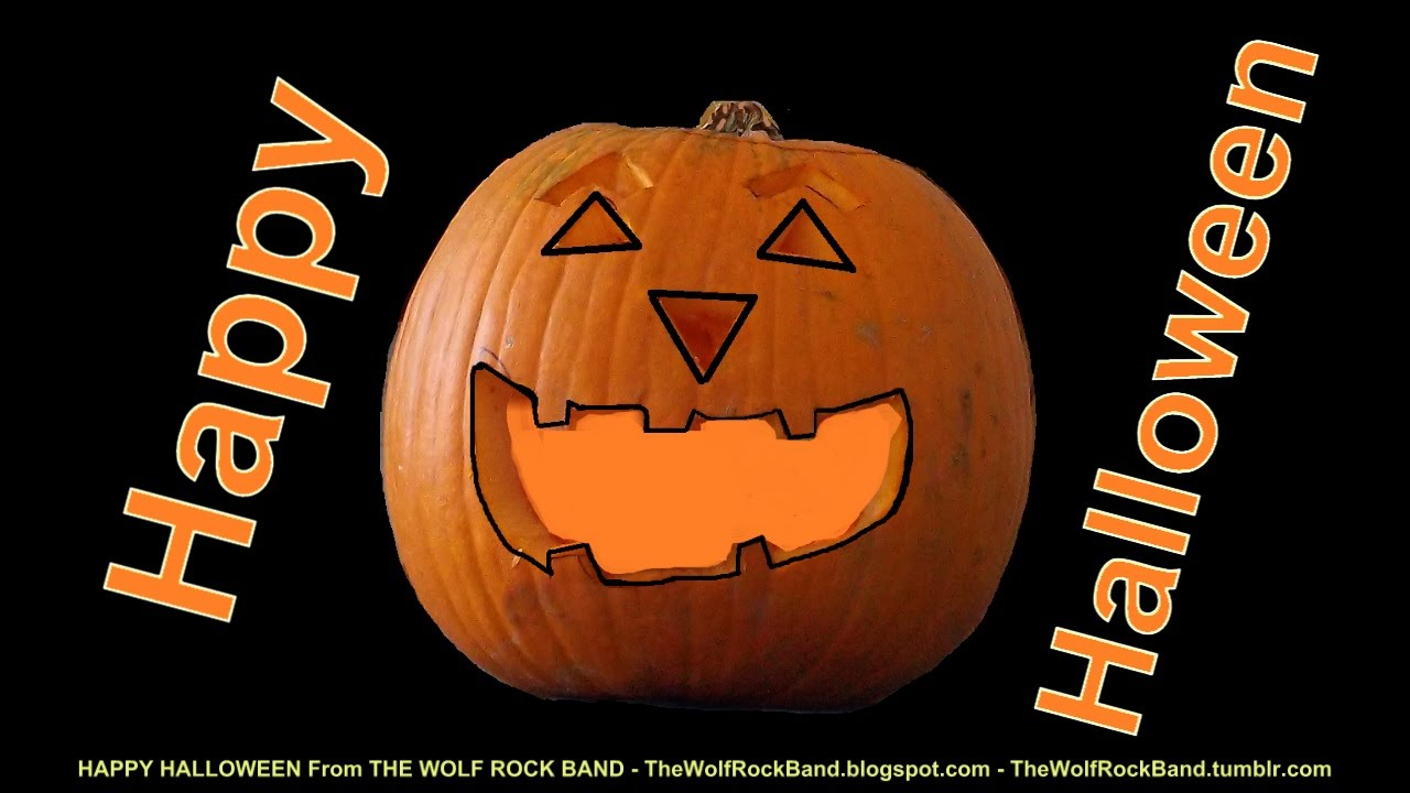Happy Halloween Song - Funny Halloween Greeting Card From The Wolf ...