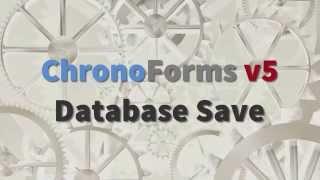 видео ChronoForms