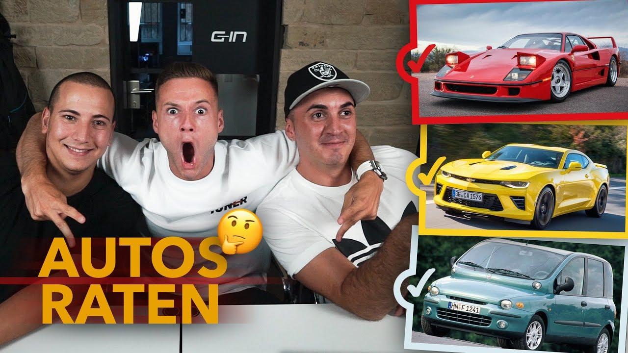 Autos raten mit Sascha, Shpendi & Peter | inscope21