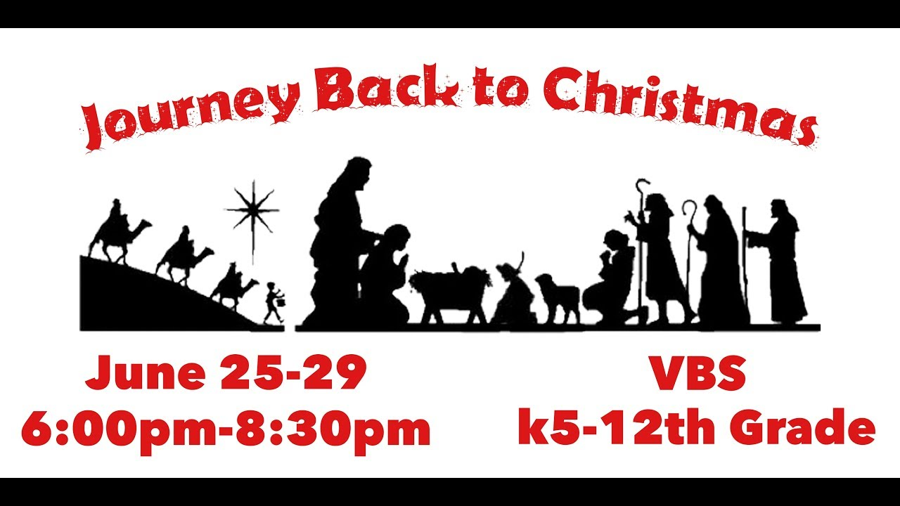 Journey Back to Christmas VBS 2017 - YouTube