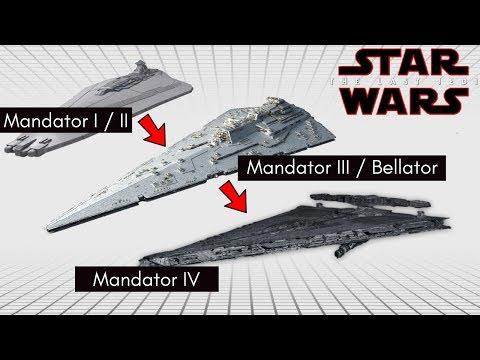The Last Jedi's New 'Mandator-IV Dreadnaught', and the Mandator Line of Star Wars Legends Explained